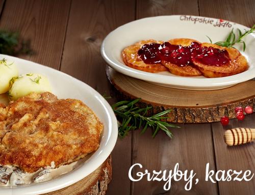 """""""Grzyby, kasze i żurawina"""" w restauracjach Chłopskie Jadło"""